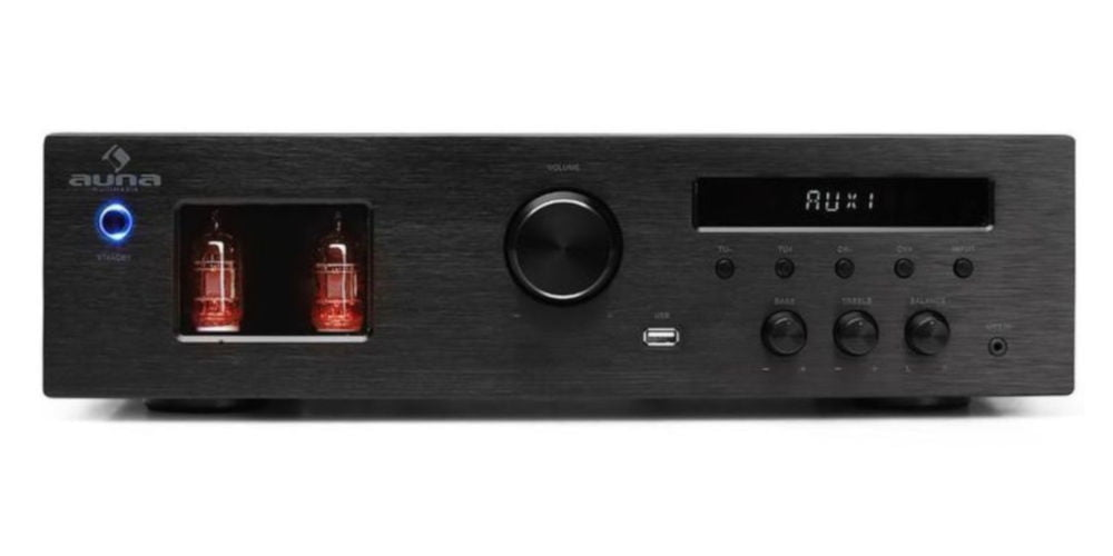 AUNA Tube 65 Stereo Hi-Fi Tube Amplifier