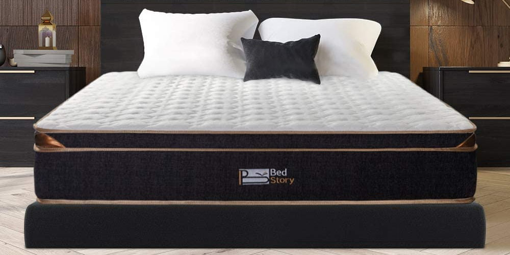 BedStory Pocket Coil Spring Mattress