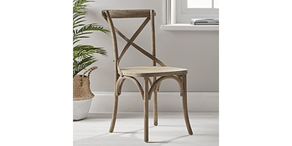 Cox & Cox Weathered Oak Dining Chairs