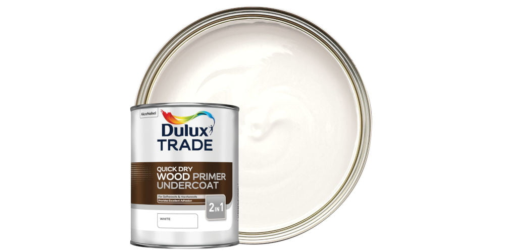 Dulux Trade Quick Dry Wood Primer Undercoat Paint