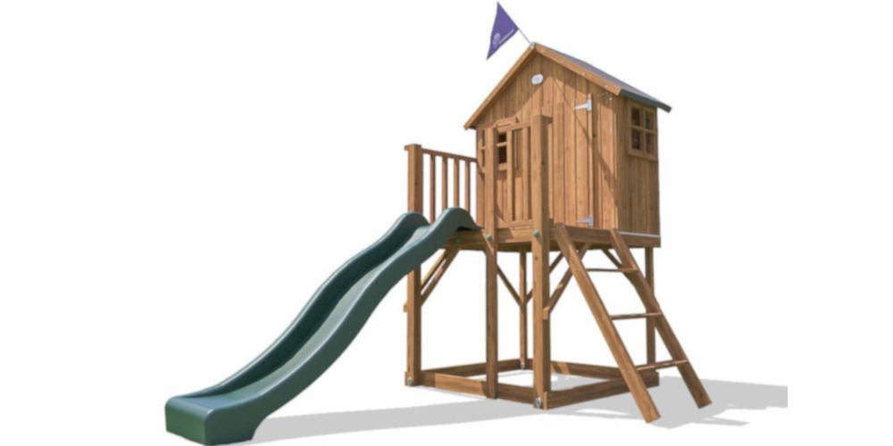 Dunster House The Lil Lodge MKII kids climbing frames