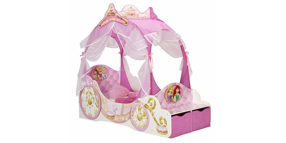 HelloHome Disney Princess Carriage Bed