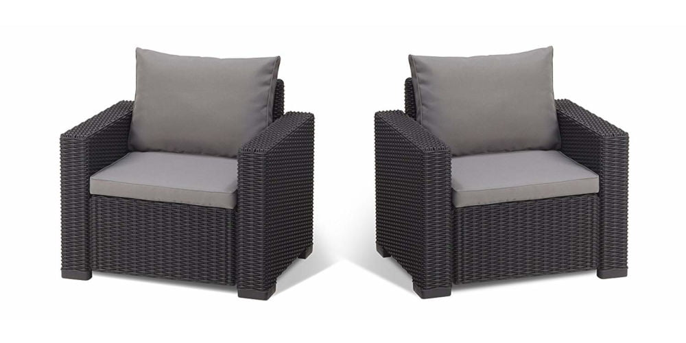 Keter Allibert California Duo Armchairs