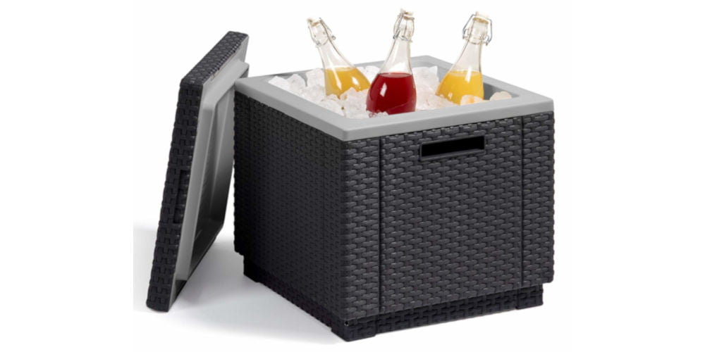 Keter Allibert Rattan Ice Box
