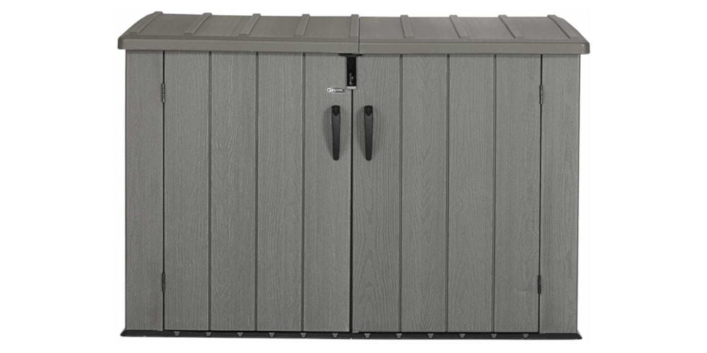 LIFETIME 60212 Horizontal Storage Shed