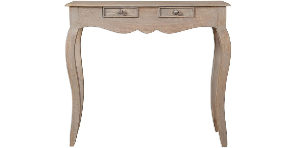 Loire French 2 Drawer Console Table