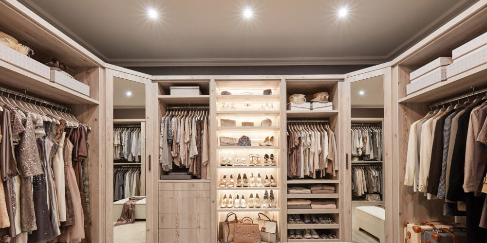 Neville Johnson luxuy closet