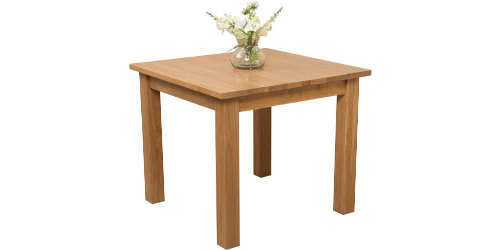 Oak Furniture King Oslo Square Dining Table