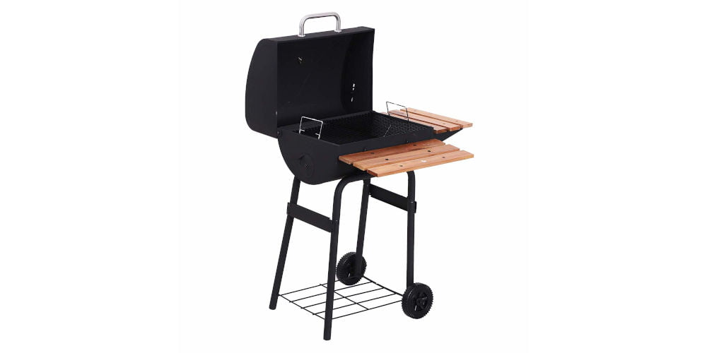Outsunny Portable Charcoal BBQ