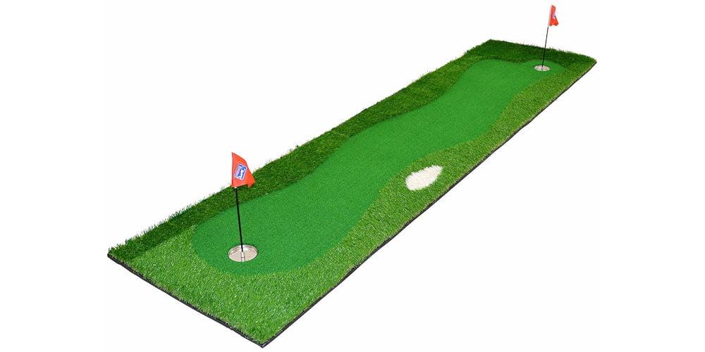 PGA Tour Unisex's St. Andrews Golf Deluxe Putting Mat