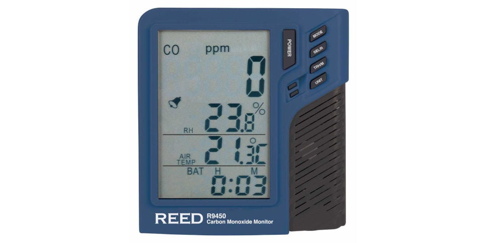 REED R9450 Carbon Monoxide Monitor