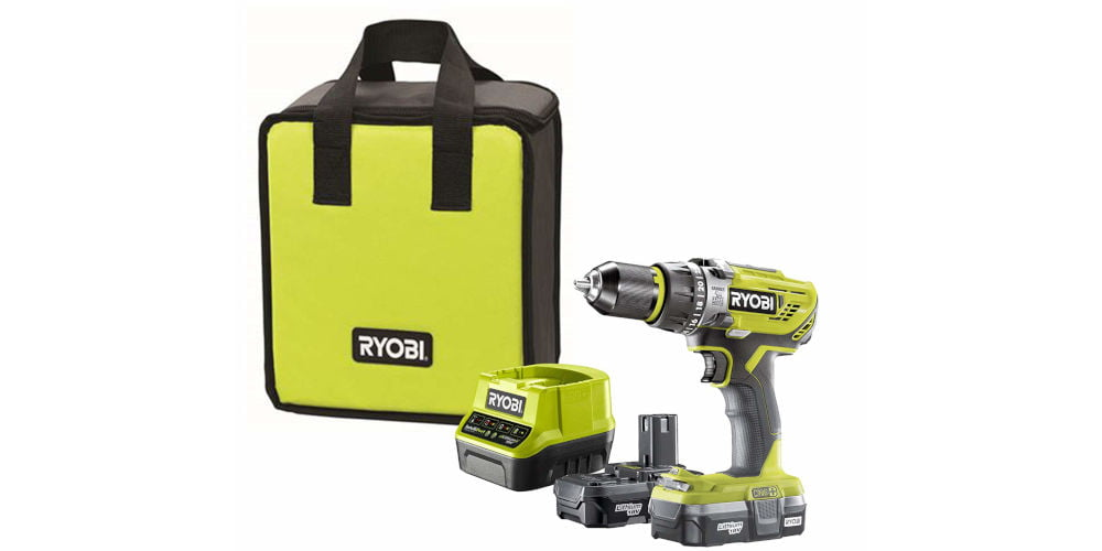 Ryobi R18PD31-213S ONE+ Cordless Combi Drill Review