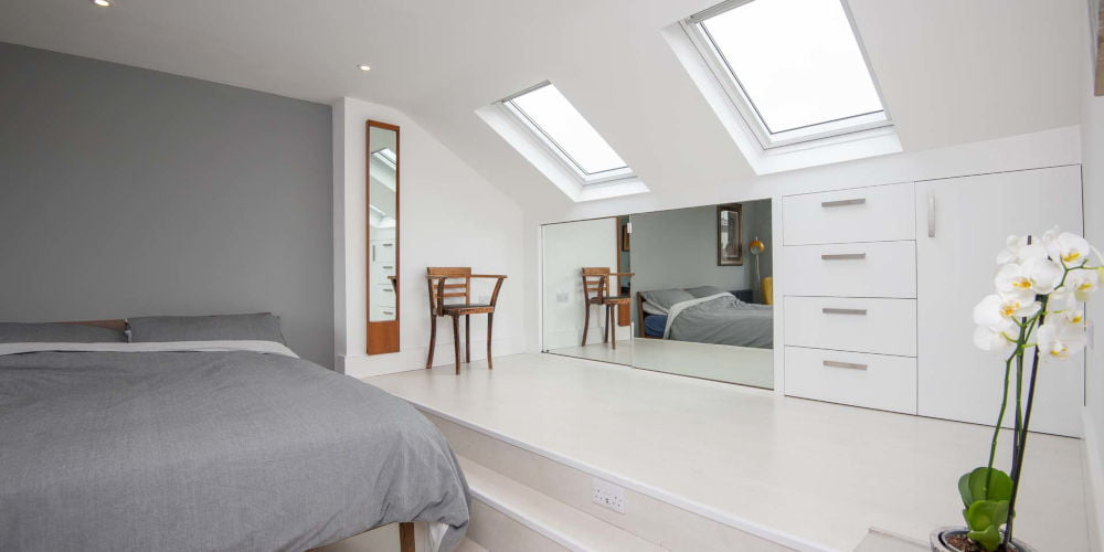 Simply Loft - storage solutions bedroom attic