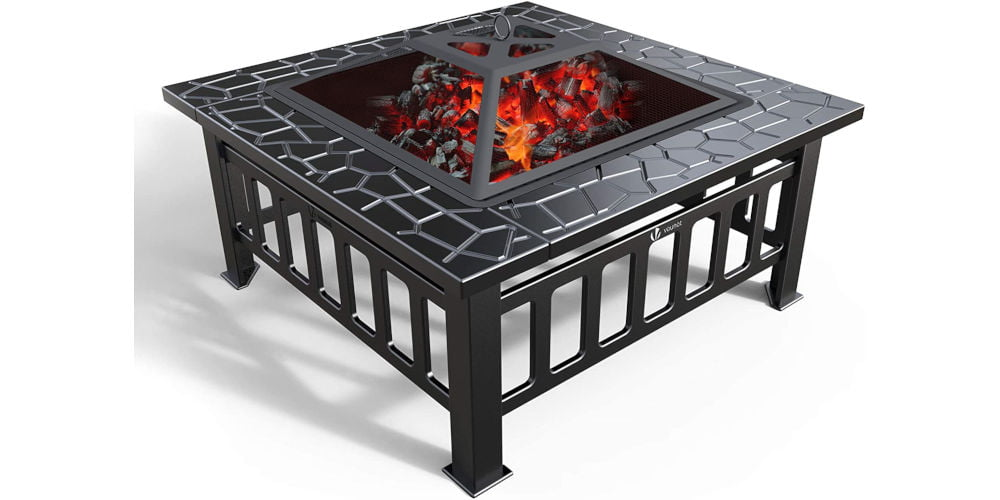 VOUNOT Fire Pit Table