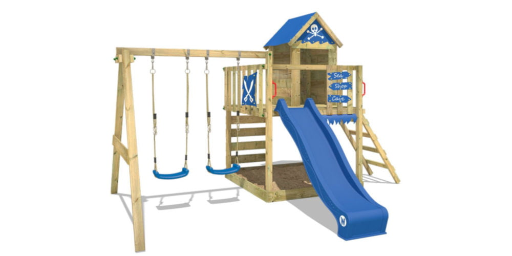 WICKEY Playground for children Smart Cave kids climbing frames