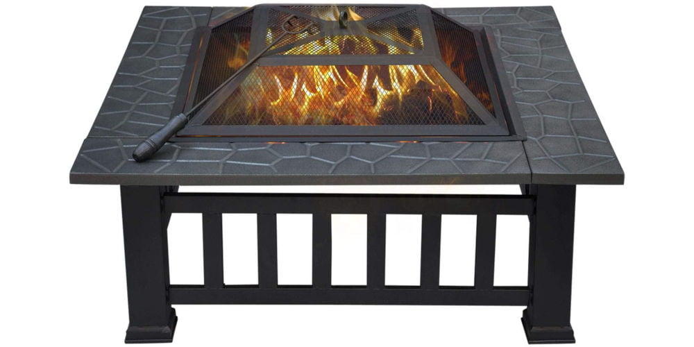 Yaheetech 3 in 1 Outdoor Fire Pit