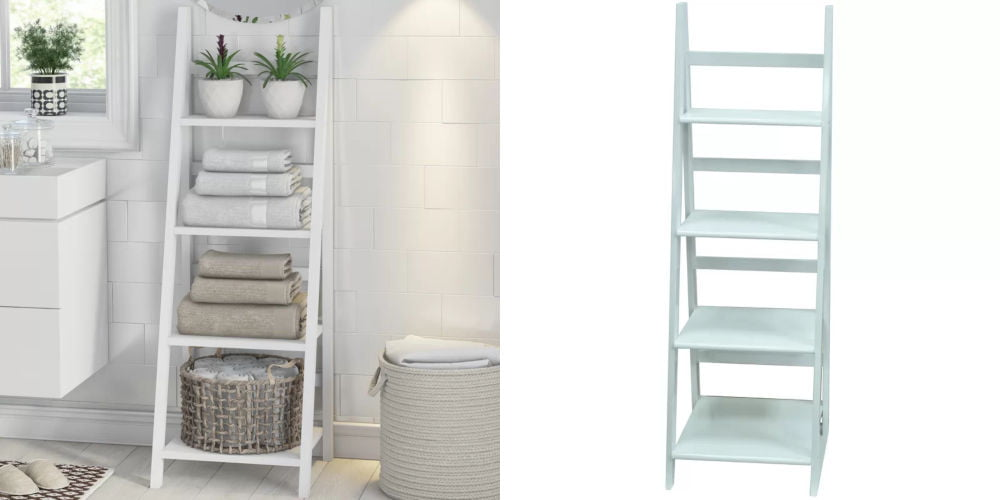 bathroom ladder shelf wayfair