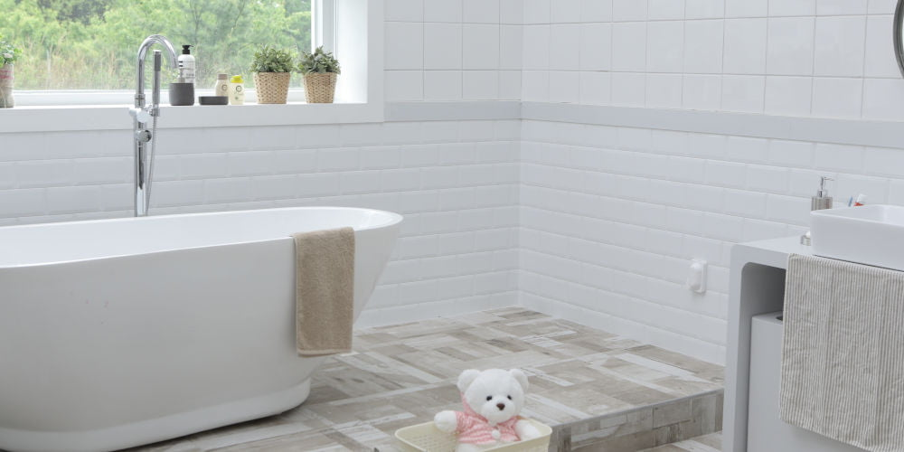 tiling bath patterns